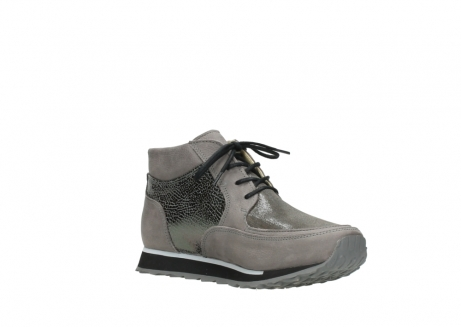 wolky lace up boots 05802 e boot 16205 darkgrey stretch leather_16