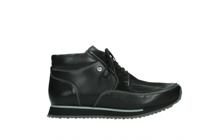 wolky veterboots 05802 e boot 20009 zwart stretch leer_1