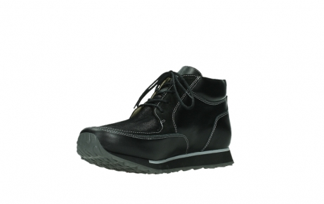 wolky veterboots 05802 e boot 20009 zwart stretch leer_10