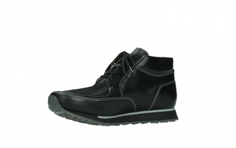 wolky veterboots 05802 e boot 20009 zwart stretch leer_11