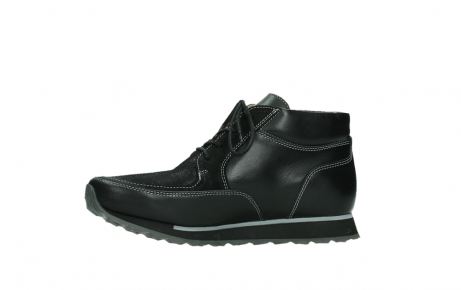 wolky veterboots 05802 e boot 20009 zwart stretch leer_12