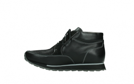 wolky veterboots 05802 e boot 20009 zwart stretch leer_13