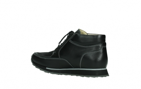 wolky veterboots 05802 e boot 20009 zwart stretch leer_15