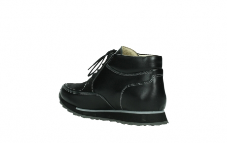wolky veterboots 05802 e boot 20009 zwart stretch leer_16
