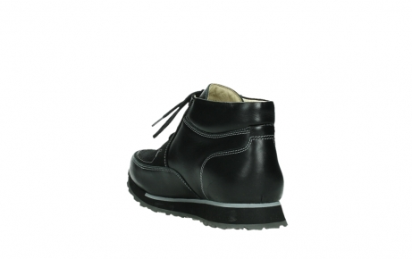 wolky veterboots 05802 e boot 20009 zwart stretch leer_17