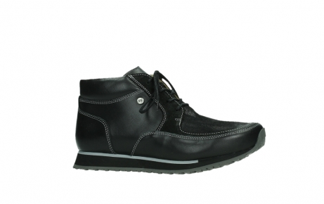wolky veterboots 05802 e boot 20009 zwart stretch leer_2