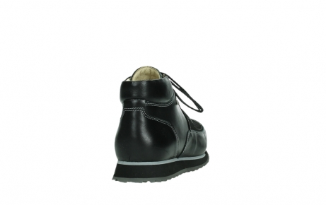 wolky lace up boots 05802 e boot 20009 black stretch leather_20