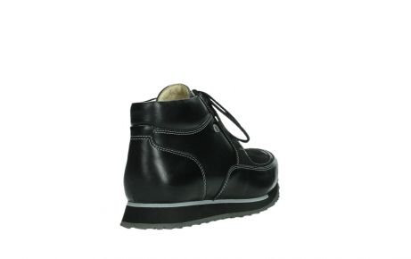wolky veterboots 05802 e boot 20009 zwart stretch leer_21