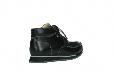wolky veterboots 05802 e boot 20009 zwart stretch leer_22