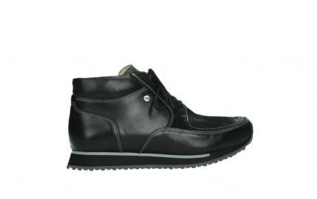 wolky veterboots 05802 e boot 20009 zwart stretch leer_24