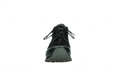 wolky veterboots 05802 e boot 20009 zwart stretch leer_7