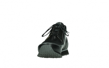 wolky veterboots 05802 e boot 20009 zwart stretch leer_8