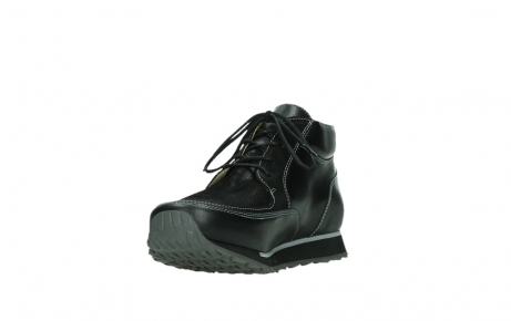 wolky veterboots 05802 e boot 20009 zwart stretch leer_9