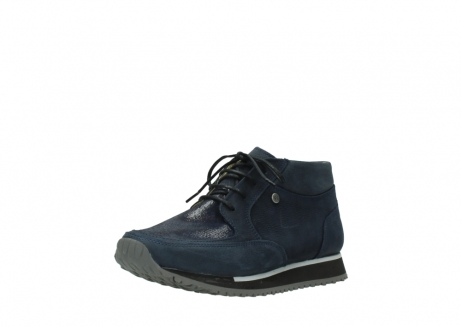 wolky bottines a lacets 05802 e boot 20809 cuir stretch bleu_22