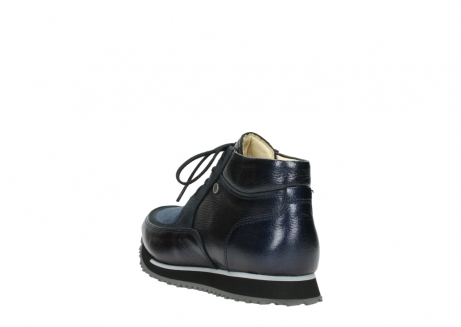 wolky lace up boots 05802 e boot 84800 blue stretch leather_5