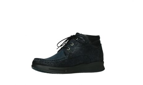 wolky lace up boots 05903 three 43800 blue metal stretch suede_11