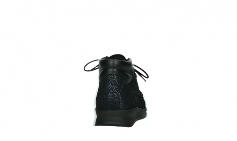 wolky lace up boots 05903 three 43800 blue metal stretch suede_19