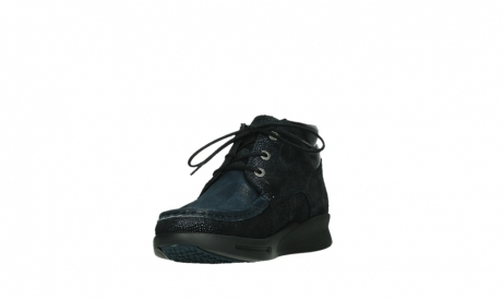 wolky lace up boots 05903 three 43800 blue metal stretch suede_9