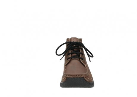 wolky lace up boots 06242 roll shoot 11430 cognac nubuck_19