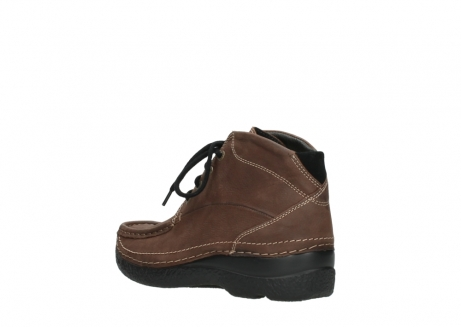 wolky lace up boots 06242 roll shoot 11430 cognac nubuck_4