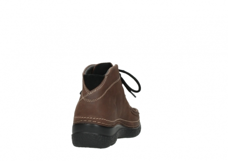 wolky lace up boots 06242 roll shoot 11430 cognac nubuck_8