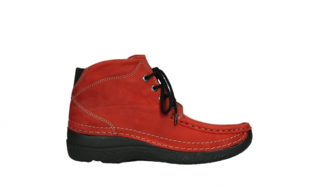wolky lace up boots 06242 roll shoot 11505 darkred nubuckleather_1