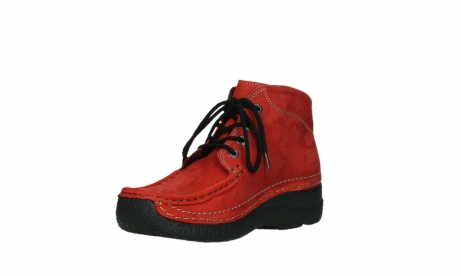wolky lace up boots 06242 roll shoot 11505 darkred nubuckleather_10