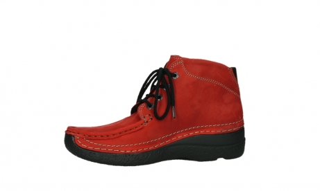 wolky lace up boots 06242 roll shoot 11505 darkred nubuckleather_12