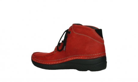wolky lace up boots 06242 roll shoot 11505 darkred nubuckleather_15