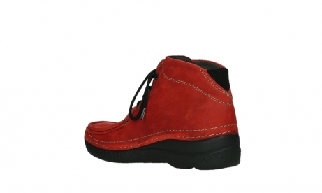 wolky lace up boots 06242 roll shoot 11505 darkred nubuckleather_16