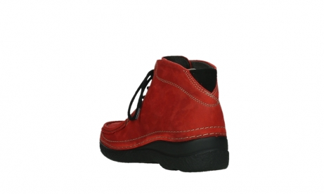 wolky lace up boots 06242 roll shoot 11505 darkred nubuckleather_17
