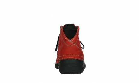 wolky lace up boots 06242 roll shoot 11505 darkred nubuckleather_19