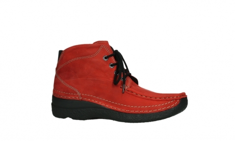 wolky lace up boots 06242 roll shoot 11505 darkred nubuckleather_2