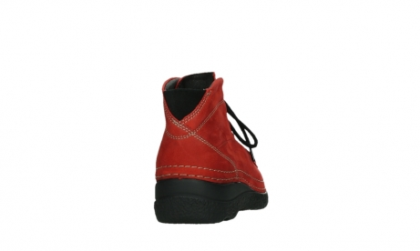 wolky lace up boots 06242 roll shoot 11505 darkred nubuckleather_20