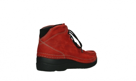 wolky lace up boots 06242 roll shoot 11505 darkred nubuckleather_22