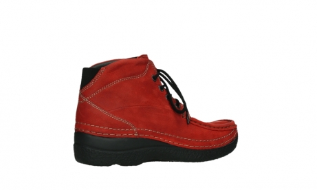 wolky lace up boots 06242 roll shoot 11505 darkred nubuckleather_23