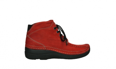 wolky lace up boots 06242 roll shoot 11505 darkred nubuckleather_24