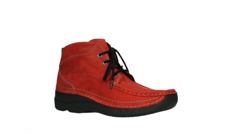 wolky lace up boots 06242 roll shoot 11505 darkred nubuckleather_3