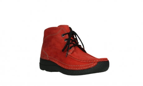 wolky lace up boots 06242 roll shoot 11505 darkred nubuckleather_4