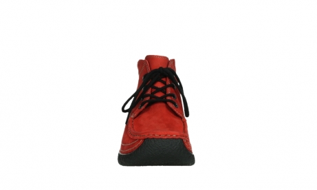 wolky lace up boots 06242 roll shoot 11505 darkred nubuckleather_7