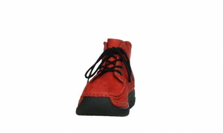 wolky lace up boots 06242 roll shoot 11505 darkred nubuckleather_8