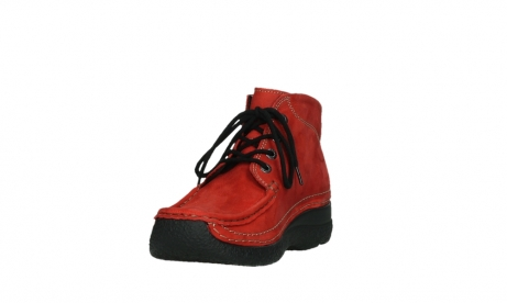 wolky lace up boots 06242 roll shoot 11505 darkred nubuckleather_9