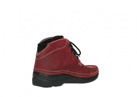 wolky bottines a lacets 06242 roll shoot 11530 cuir bordeaux_10