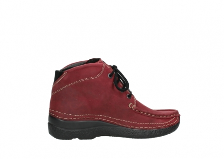 wolky bottines a lacets 06242 roll shoot 11530 cuir bordeaux_12