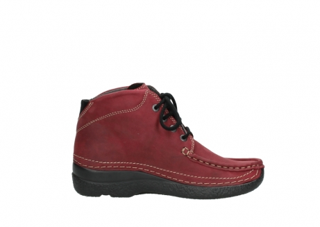 wolky bottines a lacets 06242 roll shoot 11530 cuir bordeaux_13