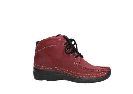 wolky bottines a lacets 06242 roll shoot 11530 cuir bordeaux_14