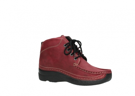 wolky bottines a lacets 06242 roll shoot 11530 cuir bordeaux_15