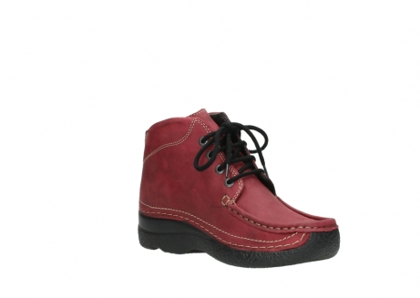 wolky bottines a lacets 06242 roll shoot 11530 cuir bordeaux_16