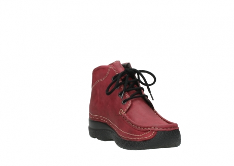 wolky bottines a lacets 06242 roll shoot 11530 cuir bordeaux_17
