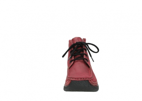 wolky bottines a lacets 06242 roll shoot 11530 cuir bordeaux_19